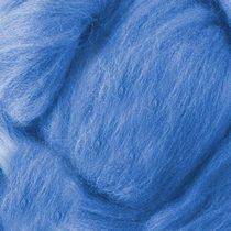 Шерсть для валяния 100% Голубой №20