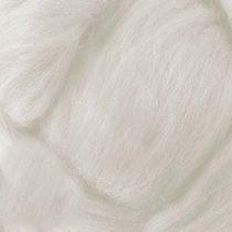 Шерсть для валяния 100% (22-24 мк.) Белый №1, 50г.