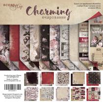 Набор двусторонней бумаги 30,5х30,5 см от Scrapmir Simple Charming 10 шт