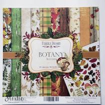 "Набор двусторонней бумаги 30,5х30,5 см ""BOTANY Autumn"" 10шт"