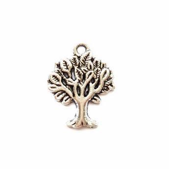 Серебряная металлическая подвеска Дерево