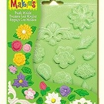 """Формочки для глины Makin's """"Цветы и листья"""""""