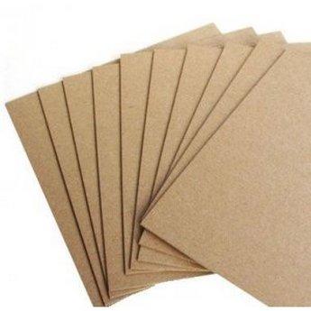 Пивной картон 1,5 мм, крафт 20*20 см