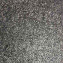 Фетр жесткий 1 мм, цвет темно-серый меланж