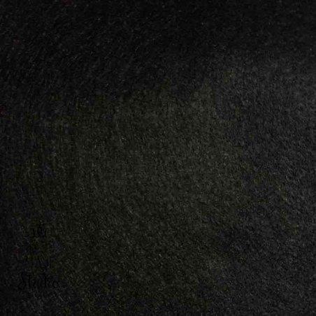 014 Фетр листовой мягкий, цвет черный