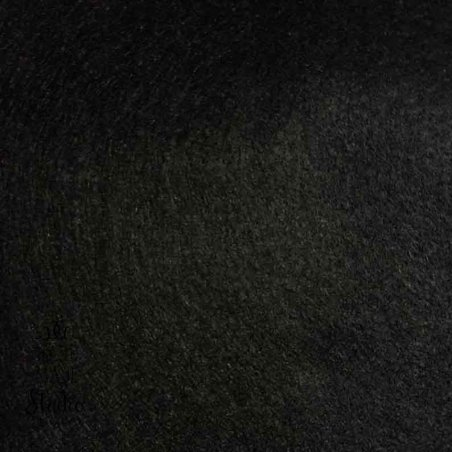 Фетр листовий м'який, 20х30 см, чорний