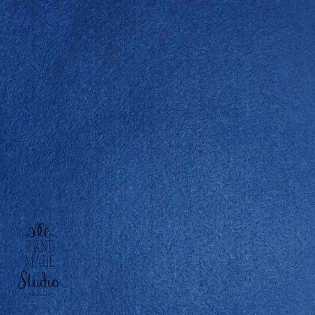 Фетр листовой мягкий, 20х30 см, темно-синий
