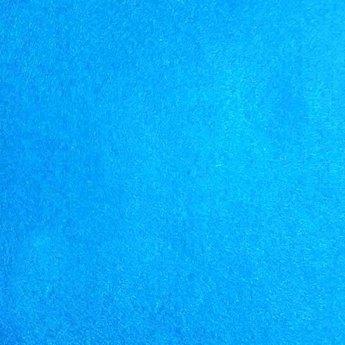 016 Фетр листовой мягкий, цвет голубой