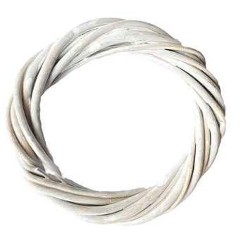 Венок из лозы, цвет серый 18 см