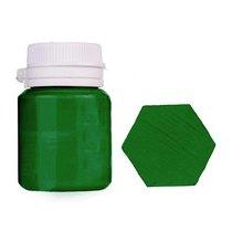 Акриловая латексная краска, 20 мл №31, цвет зеленый