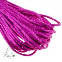 Шнурок шелковый, цвет фуксия 2 мм
