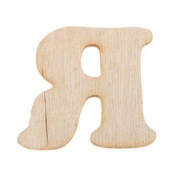 Деревянная заготовка буква Я, 6 см