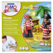 """Набор полимерной глины FIMO Kids Form & Play """"Пираты"""" 8034 13"""