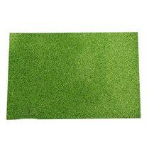 Фоамиран с глиттером, цвет зеленый 2 мм. 20х30 см