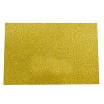 Клеевой фоамиран с глиттером, цвет светло-золотой 2 мм. 20х30 см
