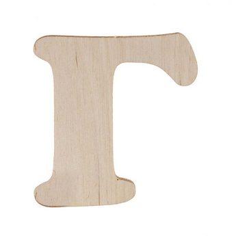 Деревянная заготовка буква Г, 6 см
