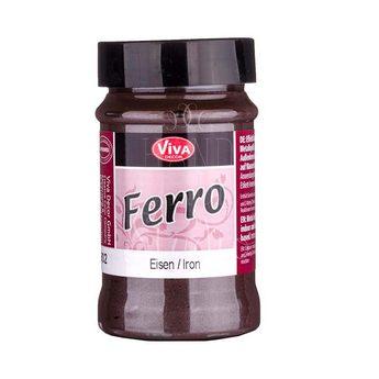 Мелкозернитстая матовая структурная паста Ferro 902 ( эффект металла ), 90 мл