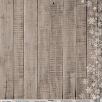 Лист односторонней бумаги 30x30 от Scrapmir Зимняя текстура из коллекции Rustic Winter, 190г/м2, 1шт
