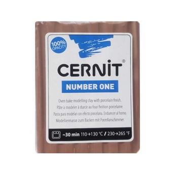 Полимерная глина CERNIT NUMBER ONE, 56 г, №812 - капуччино