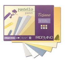 Склейка для пастели Tiziano А4 ( 21х29,7 см ) среднее зерно, 160 г/м2  30л., пастельный микс