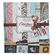 "Набор двусторонней бумаги 30,5х30,5 см ""Christmas Fairytales"" 10шт"