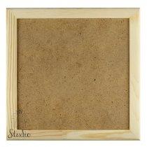 10х10х2 см Деревянная рамочка со стеклом