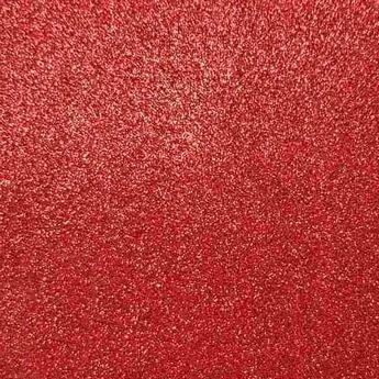 Клеевой фоамиран с глиттером, цвет красный 2 мм. 20х30 см