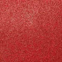 Фоамиран с глиттером, цвет красный 2 мм. 20х30 см