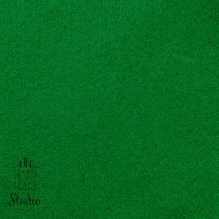 022 Фетр листовой мягкий, цвет зеленый травянной