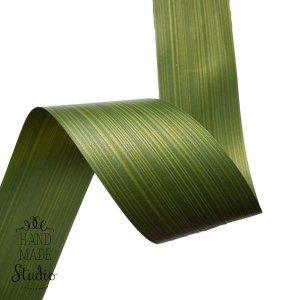 Лист Аспидистра зеленый в рулоне, 6 см