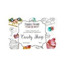 Набор открыток для раскрашивания маркерами Candy Shop,8 шт.