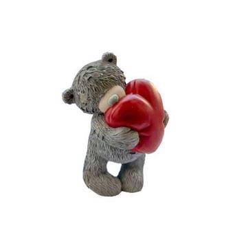 Форма-элит для мыла Тедди с сердцем 3D