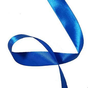 Атласная лента, темно-синий