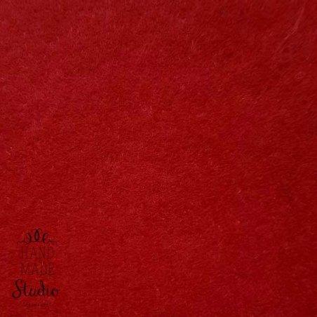 013 Фетр листовой мягкий, цвет бордовый
