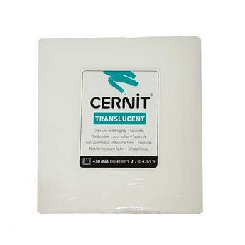 Полимерная глина Cernit Translucent, 250г, 005 - белый