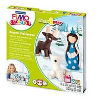 """Набор полимерной глины FIMO Kids Form & Play """"Снежная королева"""" 8034 18"""