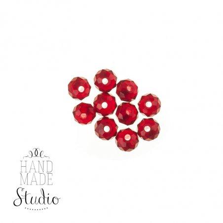 Бусины чешский хрусталь, цвет рубиновый №54