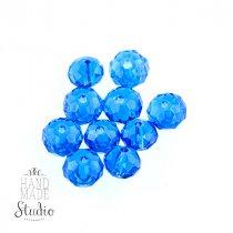 Бусины чешский хрусталь 8 мм, цвет светло-синий №69