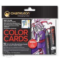 Склейка-раскраска Chameleon Color Cards - Manga
