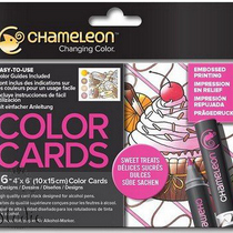 Склейка-раскраска Chameleon Color Cards - Sweet Treats