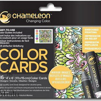 Склейка-раскраска Chameleon Color Cards - Mirror Images