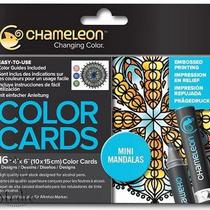 Склейка-раскраска Chameleon Color Cards - Mini Mandalas