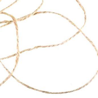 Льняной канат для декорирования (шпагат), толщина - 1,8 мм