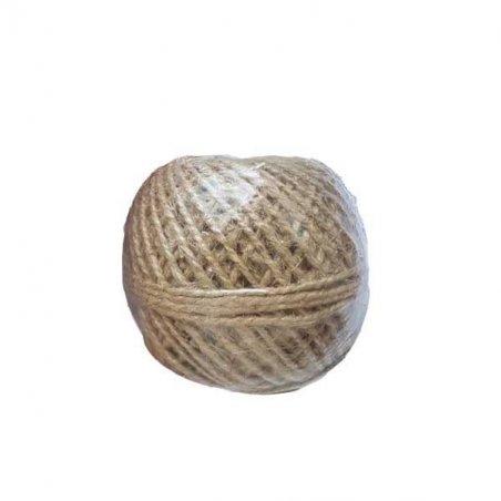 Льняной канат для декорирования, толщина - 2,5 мм ( 30м )