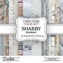 """Набор двусторонней фоновой бумаги 30,5х30,5 см """"SHABBY texture"""" 12 листов"""