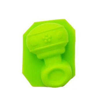 Силиконовая форма для мыла Погремушка