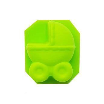 Силиконовая форма для мыла Детская коляска