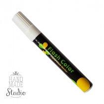 Меловой маркер Flash Color 6 мм, цвет белый