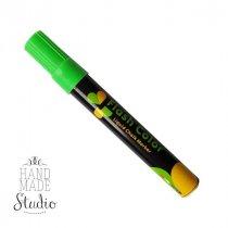 Меловой маркер Flash Color 6 мм, цвет флуоресцентный зеленый