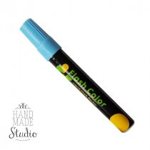 Меловой маркер Flash Color 6 мм, цвет голубой